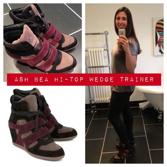 Ash Bea Hi-top Wedge Trainers